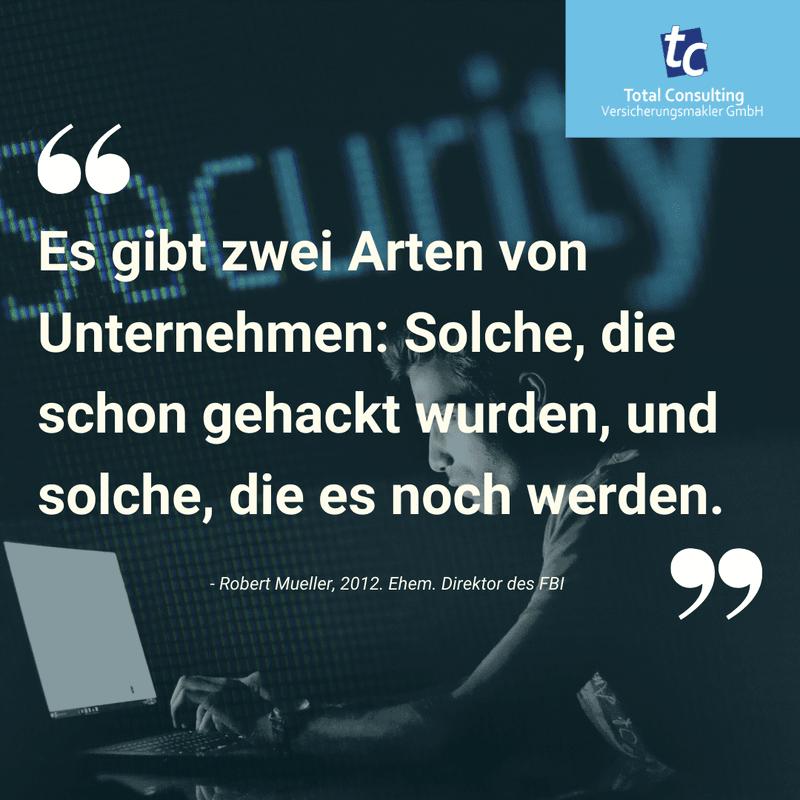 Es gibt zwei Arten von Unternehmen: Solche, die schon gehackt wurden, und solche, die es noch werden. Cyber Security