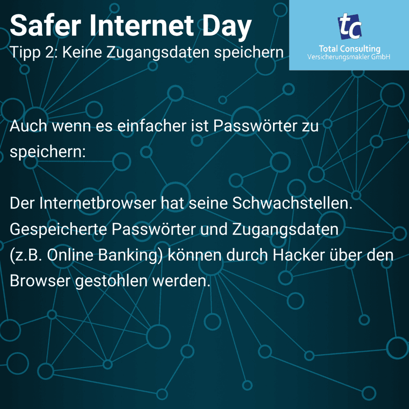 Safer Internet Day Tipp 2