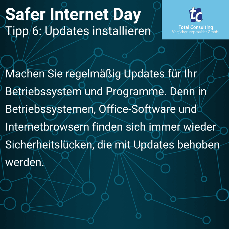 Safer Internet Day Tipp 6