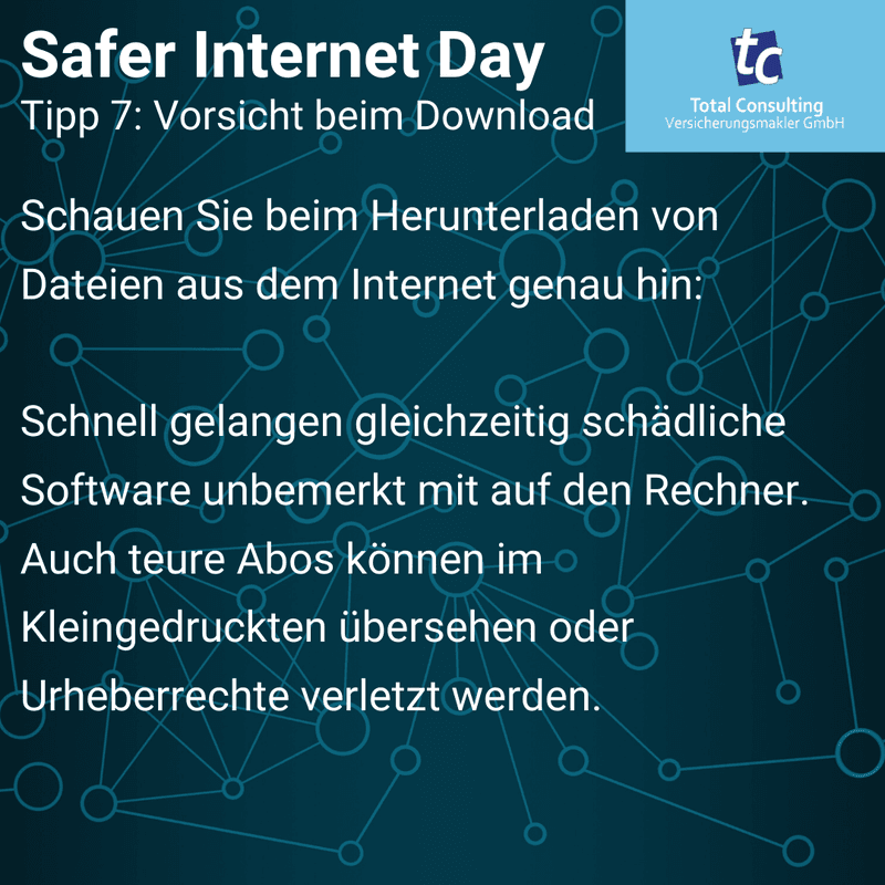 Safer Internet Day Tipp 7