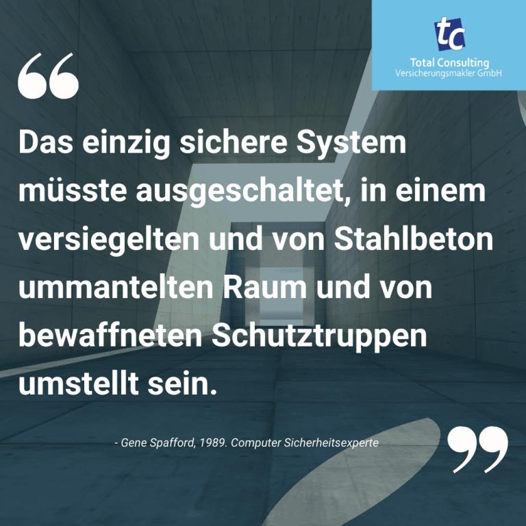 Das einzig sichere System